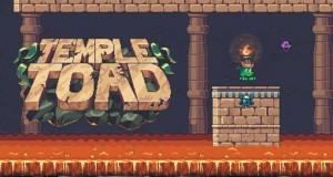 Temple Toad: als Frosch durch einen endlosen Tempel hüpfen