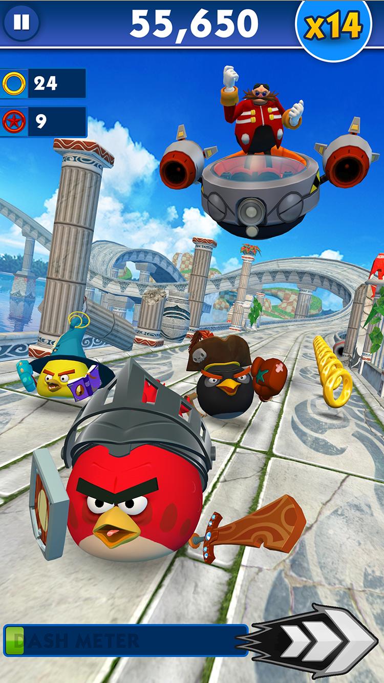 Sonic Dash iPad