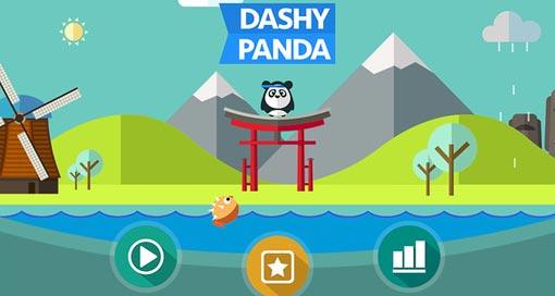 """In """"Dashy Panda"""" bleibt der kleine Panda leider meistens hungrig…"""