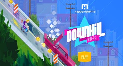 """Happymagenta veröffentlicht neuen Endless-Runner """"Downhill Riders"""""""