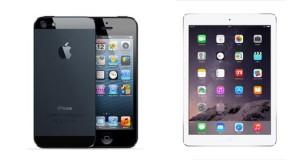 Tolle Angebote bei ebay: iPad Air 32GB für 349€, iPhone 5 32GB für nur 250€
