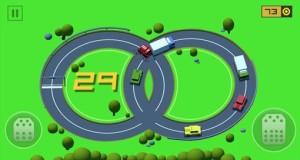 """In """"Loop Drive : Crash Race"""" fahrt ihr im Kreisverkehr zum Highscore"""