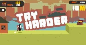 Try Harder: in diesem Endless-Runner müsst ihr über Leichen gehen…