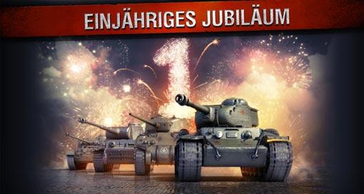 """Panzer-MMO """"World of Tanks Blitz"""" feiert Jubiläum & verschenkt einen Premium-Panzer"""