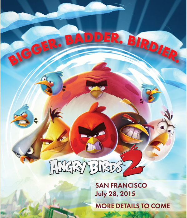 Angry Birds 2 iPhone iPad