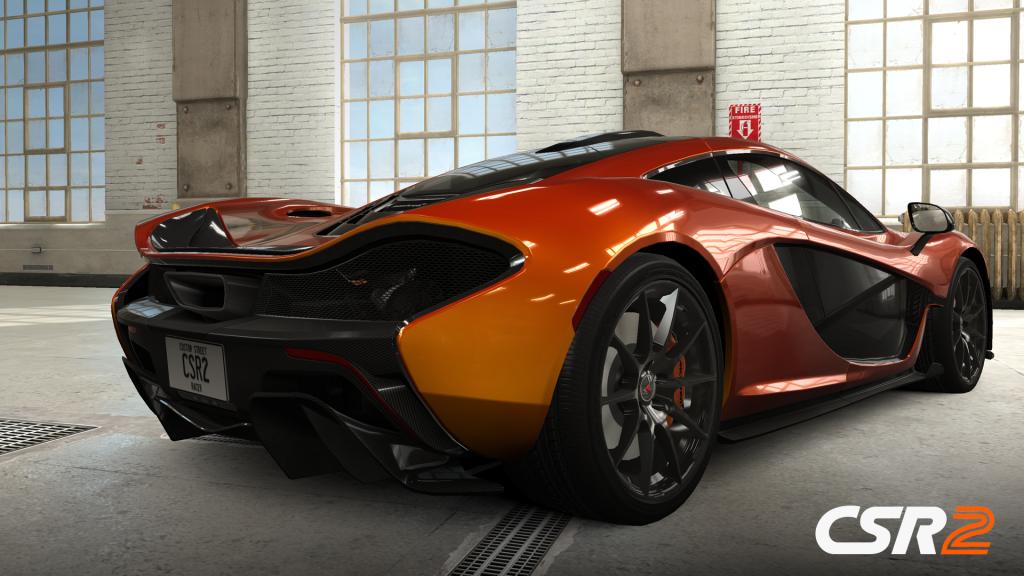 McLaren P1_Garage CSR2