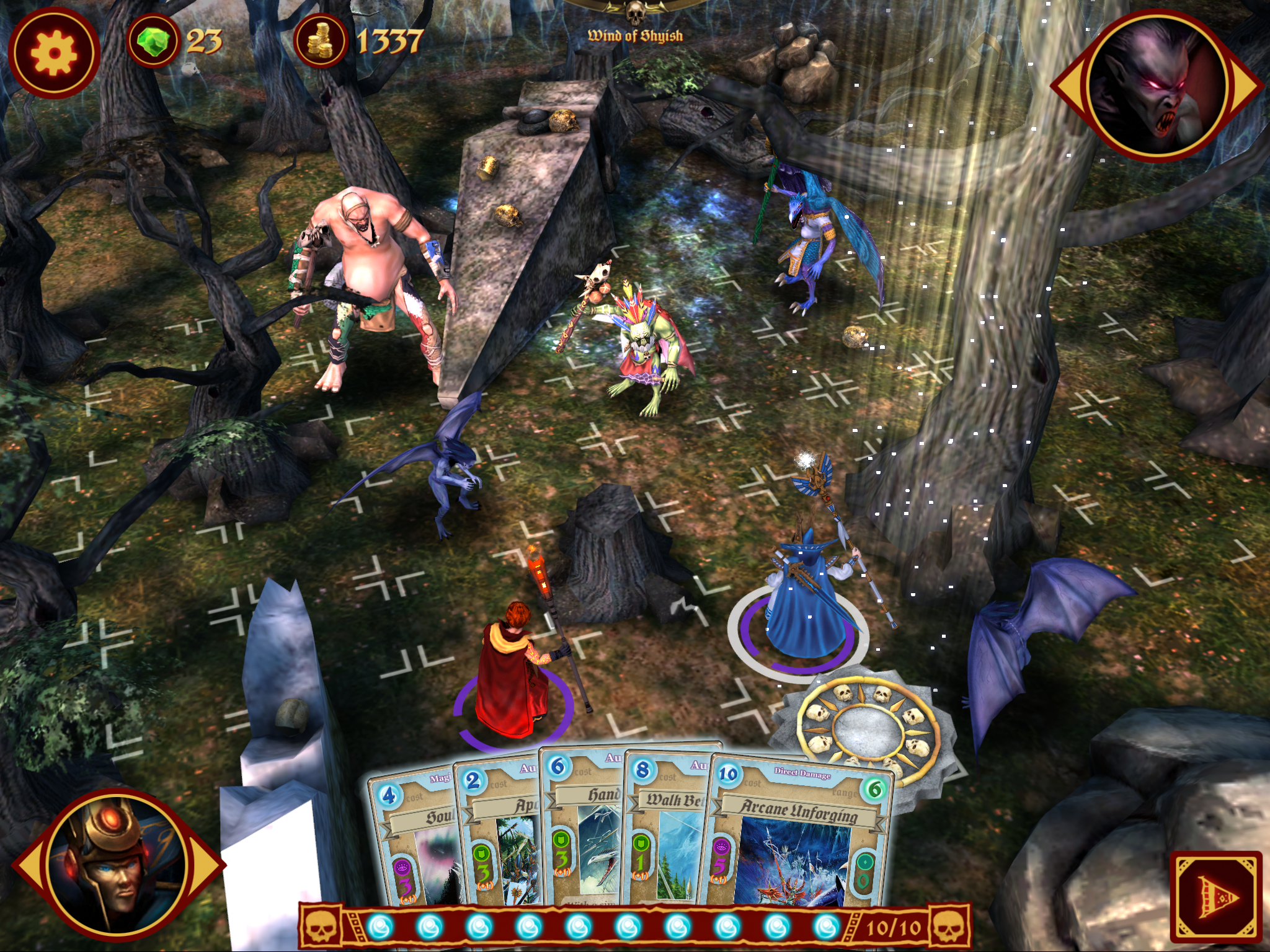 Warhammer: Arcane Magic iPhone iPad