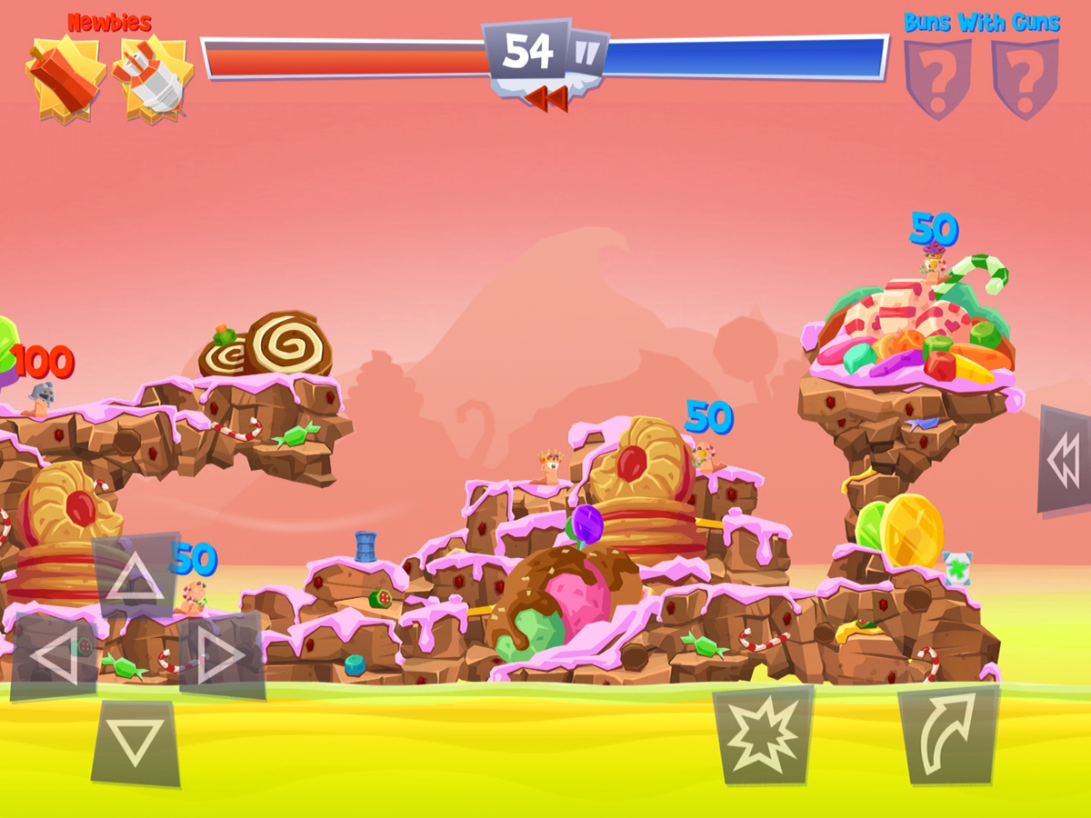 Worms 4 Preview iPhone iPad