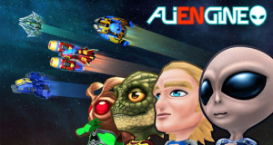 Aliengine: frustrierender Space-Shooter mit One-Touch-Steuerung