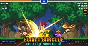 Barcode Knight: hier wird die Orangensaftpackung zum feindlichen Kobold