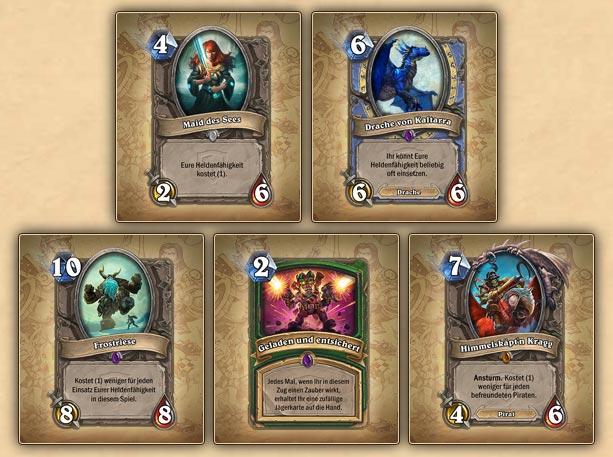 Hearthstone Das Große Turnier Karten Preview iPhone iPad