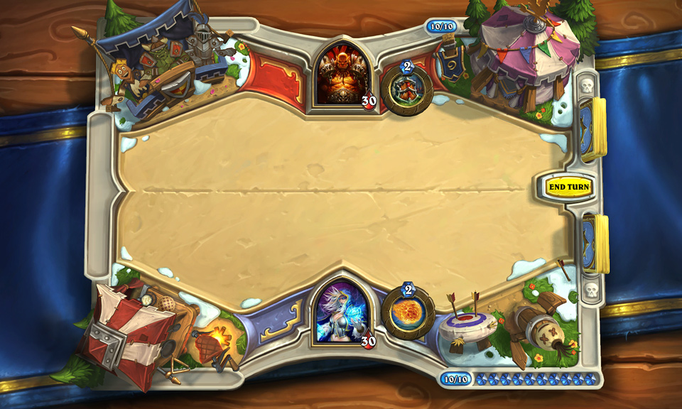 Hearthstone Das Große Turnier Spielbrett Preview iPhone iPad