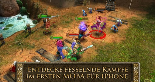 "Neues Update für MOBA ""Heroes of Order & Chaos"""
