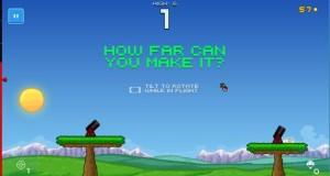 Human Cannonball: neues Highscore-Game mit einer menschlichen Kanonenkugel