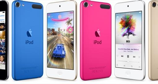 Apple aktualisiert iPod touch mit iPhone-6-Technik