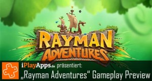 "Preview: ""Rayman Adventures"" im Gameplay-Video"