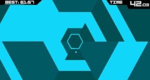 """Arcade-Game """"Super Hexagon"""": schwer, schnell, fesselnd, reduziert"""