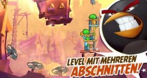 """Erstes Update für """"Angry Birds 2"""": 20 neue Level im Schweinleinland"""