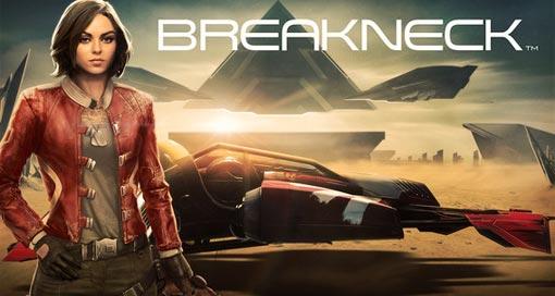 """""""Breakneck"""" ist ein futuristischer Endless-Racer mit toller Grafik von PikPok"""
