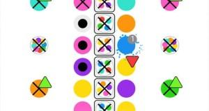 """""""Dotello: Slide"""" von Bulkypix: neues Match-3-Puzzle mit vielen bunten Punkten"""