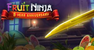 """""""Fruit Ninja"""" feiert 5. Jubiläum: Updates für viele Spiele von Halfbrick"""