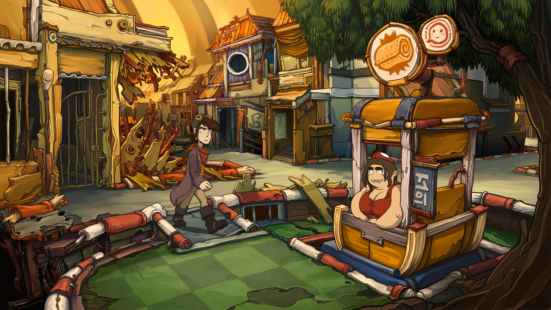 Deponia iPhone iPad
