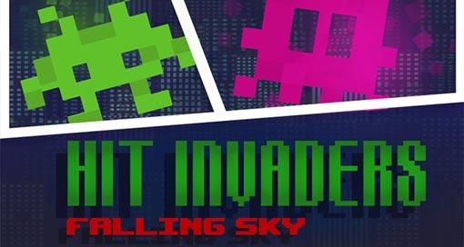 """In """"Hit Invaders"""" müsst ihr mit flinken Fingern eine Alien-Invasion verhindern"""