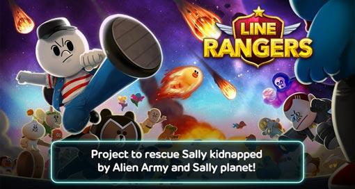 """Erfolgreiches Action-Battle-RPG """"LINE Rangers"""" jetzt auch in deutscher Sprache (mit Gewinnspiel)"""
