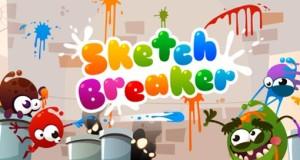 Sketch Breaker: kunterbunter Breakout-Klon mit gewischten Paddles
