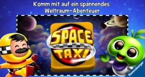 """Space Taxi!"" neu von Ravensburger Digital: endloser Planeten-Gehüpfe als Weltraum-Taxifahrer"