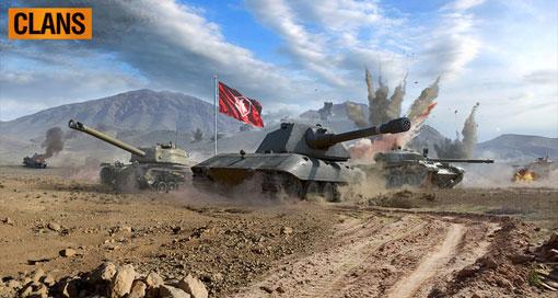 """""""World of Tanks Blitz"""" ermöglicht nun Clan-Kämpfe"""