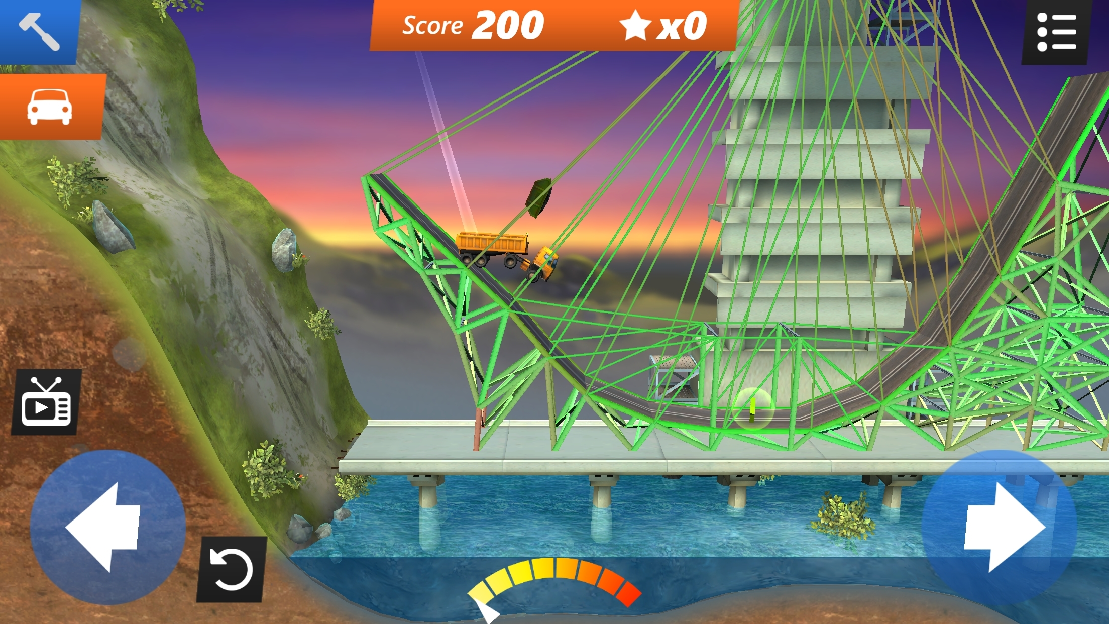 Bridge Constructor Stunts iPhone iPad