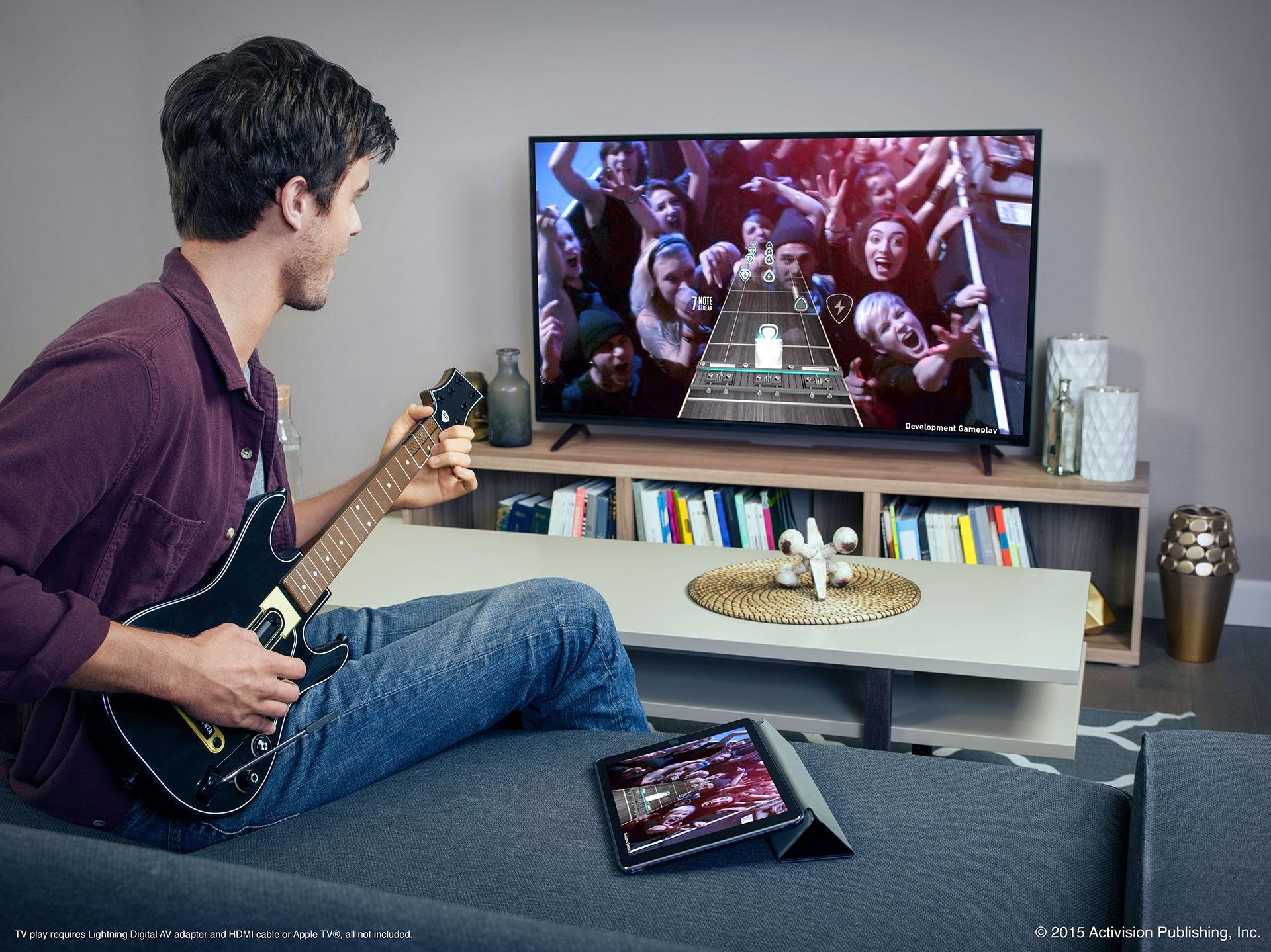 Guitar Hero Live Apple TV iOS