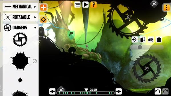 badland level editor update ios