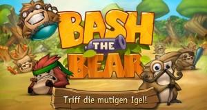 Bash the Bear: fliegende Igel und ein fauler Bär