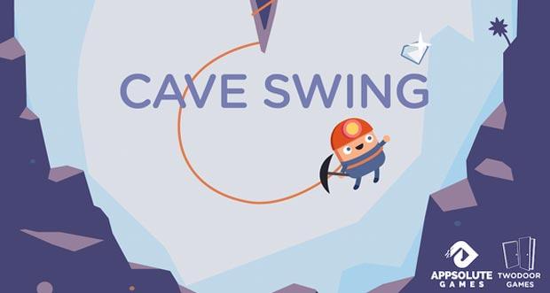 """""""Cave Swing"""" ist ein frustrierend schwerer Highscore-Schwinger von Appsolute Games"""