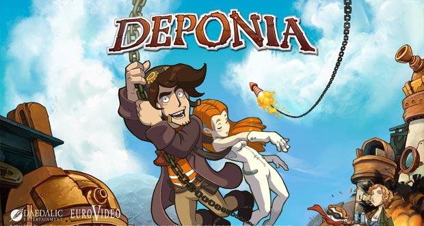 """Tolles Point-and-Click-Adventure """"Deponia"""" erstmals zum halben Preis laden"""