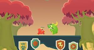 Monster Panic: Highscore-Game mit einem kleinen und einem großen Monster