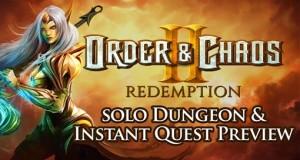 """Neuer Trailer: Gameloft zeigt Einzelspieler-Modus von """"Order & Chaos 2: Redemption"""""""