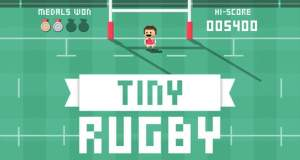 Tiny Rugby: neues Highscore-Game passend zur Rugby-WM
