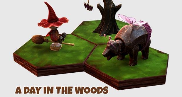 """Premium-Puzzle """"A Day In The Woods"""" erhält Halloween-Update & ist im Angebot"""