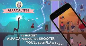 Alpacalypse: witziger Spuck-Shooter als Highscore-Game