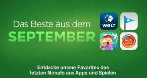 Das Beste aus dem September: Apples Spiele-Empfehlungen