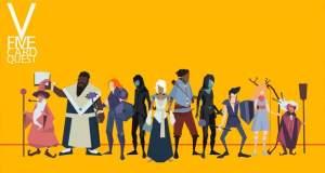 Five Card Quest: Mix aus Card-Battler und RPG von Rocketcat Games