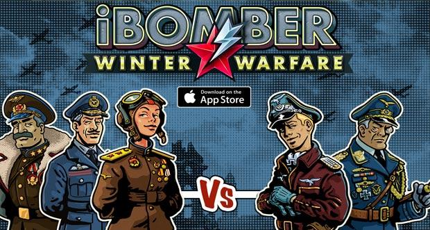"""""""iBomber – Winter Warfare"""" landet am Donnerstag im AppStore"""