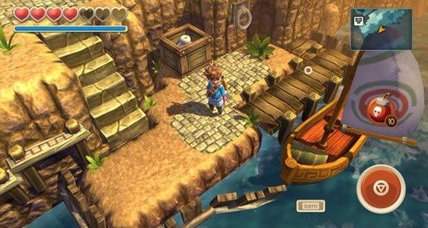 "Adventure ""Oceanhorn"" erhält Ultra-Quality-Grafikupdate für iOS 9"