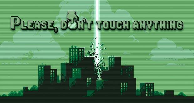"""Ungewöhnliches Rätselspiel """"Please, Don't Touch Anything"""" erstmals reduziert"""