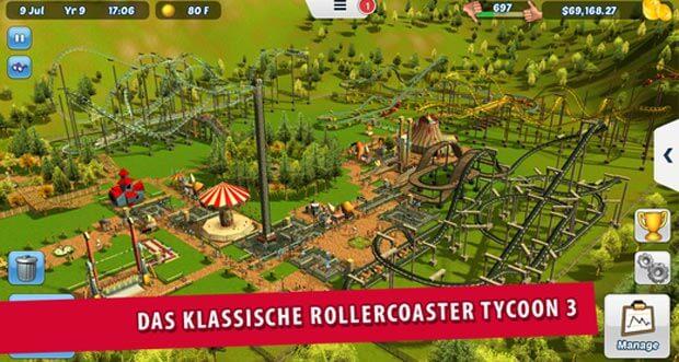 """""""RollerCoaster Tycoon 3"""" erstmals etwas reduziert"""