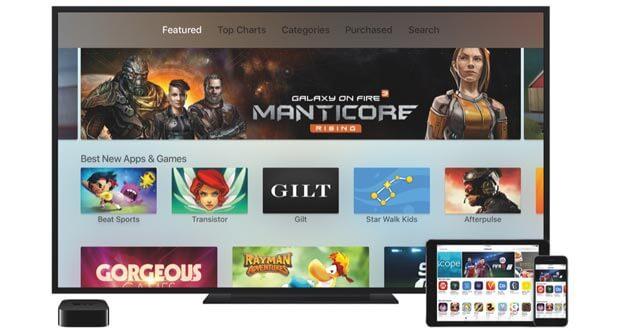 Spiele-Empfehlungen für das neue Apple TV
