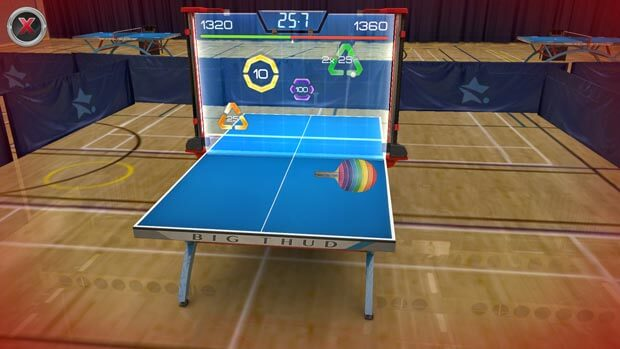 Table Tennis Touch Glass Table iOS